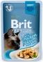 BRIT Premium Cat Delicate Chicken (vištiena su padažu) 85 g